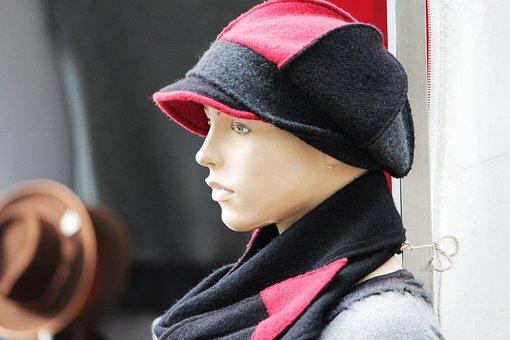 Hat, Dress Doll, Cap, Figure, Woman, Deco, Decoration