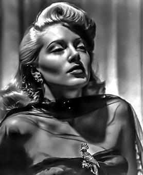 Lana Turner - Female, Portrait, Hollywood, Actress