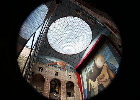Dali, Museum, Inside, Architecture, Catalonia, Salvador