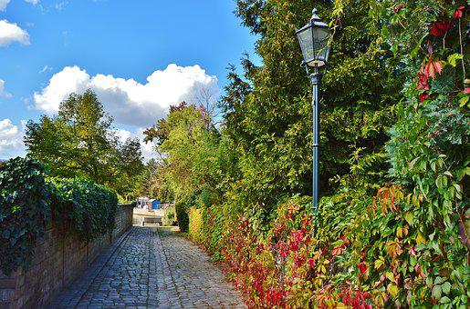 Alley, Old Town, Port Access, Idyllic, Autumn, Romantic