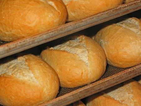 Roll, Fresh Bread Rolls, Baker, Oven, Baking Tray, Eat