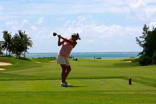 Golf, Woman, Tee, Golf Clubs, Cool, Sport, Action