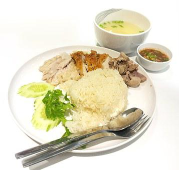 Food, Chicken, Lunch, Soup, Dish, Dinner, Plate, White