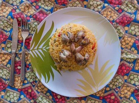 Rice, Chipichipi, Isla Maragarita, Cuisine, Meal, Dish