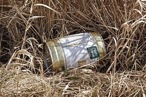 Cans, Metal, Disposal, Environment, Nature, Garbage