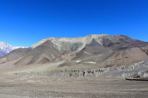 Desert, Landscape, Hills, Dry, Environment, Arid