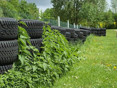 Mature, Rubber, Green, Auto Tires, Black, Environment