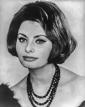 Sophia Loren, Female, Portrait, Hollywood, Film, Tv