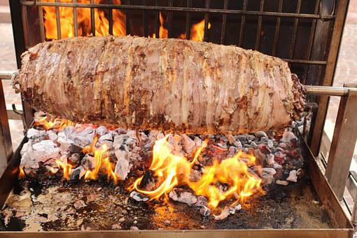 Cag Kebab, Lamb, Grill, Food, Spit, Barbecue, Nutrition