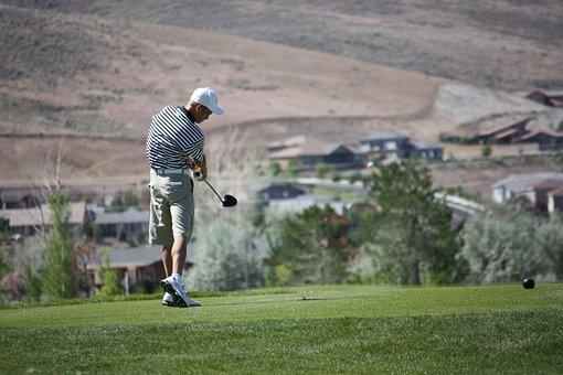 Golf, Golfing, Driver, Tee, Shot, Golf Club, Athlete