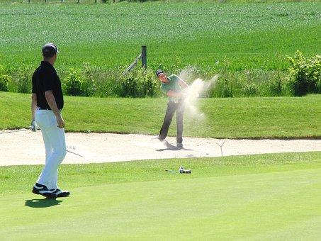 Tee, Golf, Golf Club, Rush, Golf Turf, Sport, Bunker