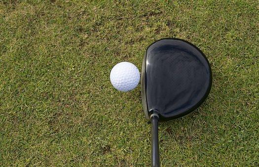 Golf, Ball, Golf Ball, Golf Club, Grass, Sport, Golfing