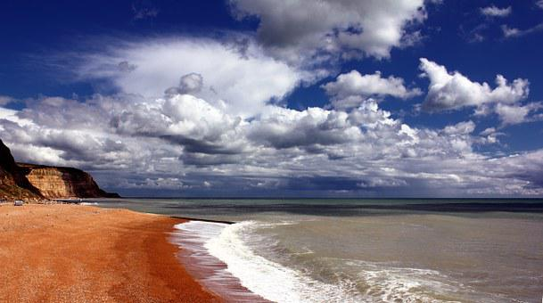Hastings, Beach, Coast, England, Seaside, Sussex, Sea