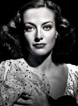 Joan Crawford-hollywood, Film, Actress, Gray Film