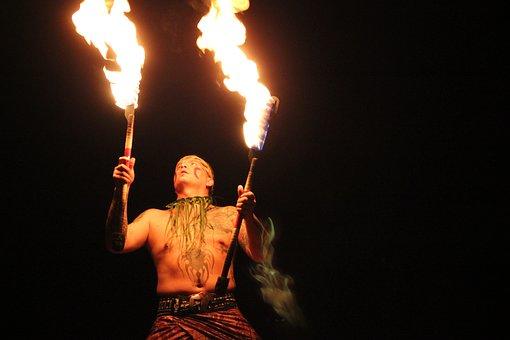 Fire, Entertainer, Tribal, Man, Person, Entertainment