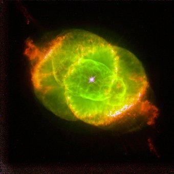Cat's Eye Nebula, Ngc 6543, Planetary Fog