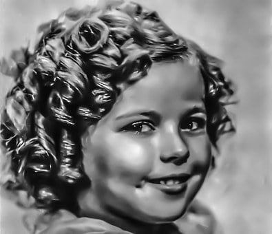 Shirley Temple - Female, Portrait, Hollywood, Film, T