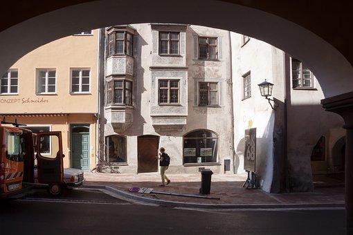 City, Homes, Arcades, Renaissance, Architecture