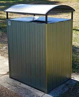 Bin, Rubbish, Public, Trash, Container, Waste, Garbage