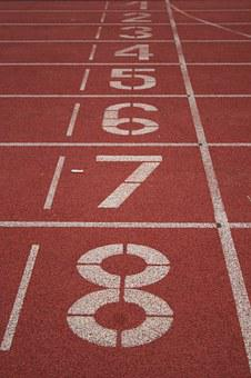 Track, Running, Sport, Numbers, Athletics, Competition