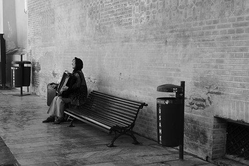 Street Music, Accordion, Street Musicians, Singing