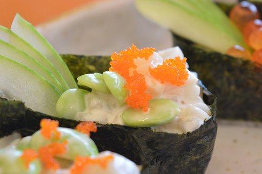 Sushi, Japanese, Food, Japanese Food, Gourmet