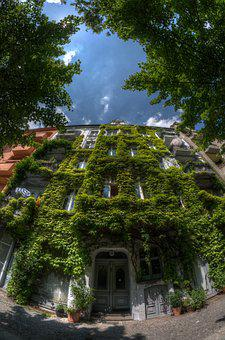 Berlin, House, Summer, Architecture, Urban, Germany