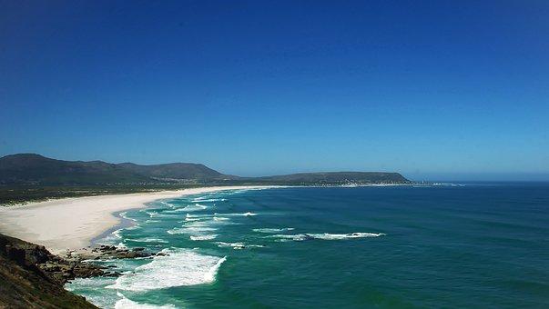 South Africa, False Bay, Ocean, Indian, White Sharks