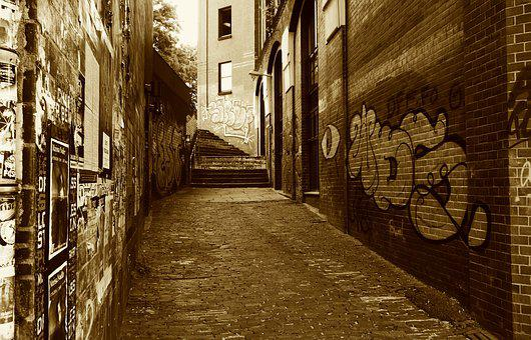 Passage, Alley, Architecture, City, Historic Center