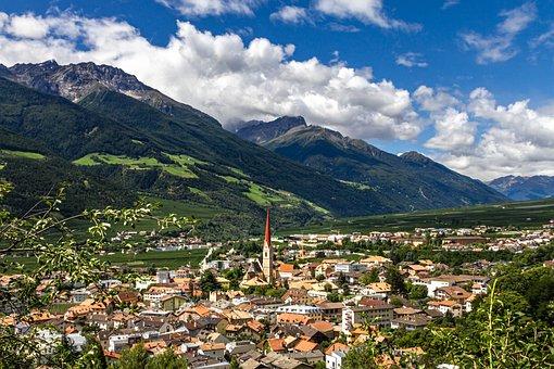 Alpine, South Tyrol, Village, Beautiful, Mountains