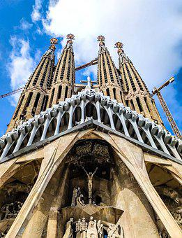 Barcelona, Cathedral, Architecture, Spain, Church