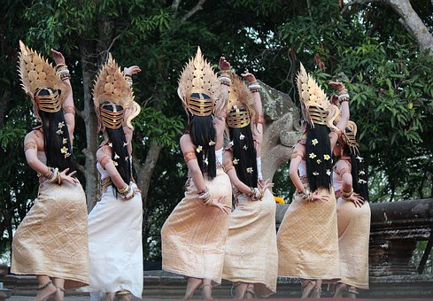 Thailand, Dancer, Asia, Culture, Traditional, People