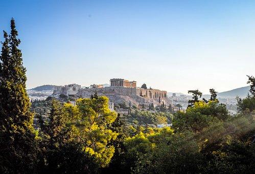 Athens, Acropolis, Greece, Temple, Greek, Antiquity
