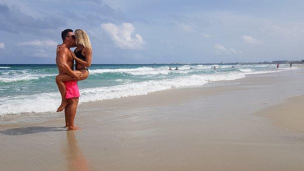 Beach, Romance, Love, Couple, Romantic, Amorousness