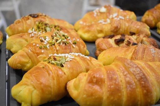 Sweet, Breakfast, Pastry, Brioche, Food, Dessert, Eat