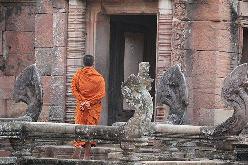 Monk, Thailand, Religion, Faith, Buddhism, Buddhist