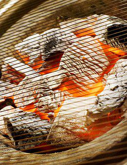 Charcoal, Fire, Barbecues, Light Edition, Meat