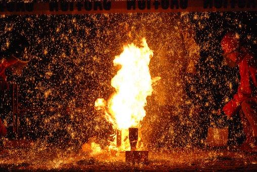 Flame, Fire, Ablaze, Fireworks, Flames, Spew, Sizzle