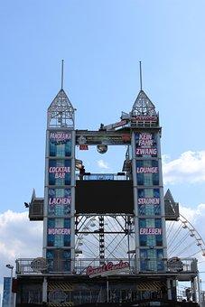 Is Backed Up, Bonn, Tower, Fair, Folk Festival