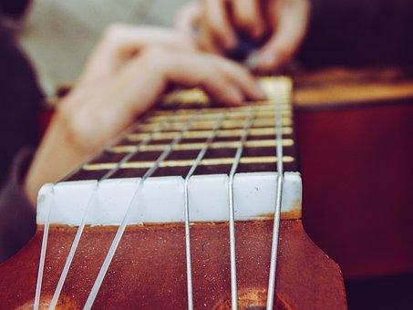 Guitar, Music, Blur, Instrument, Medellin, Colombia