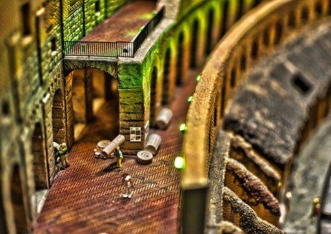 Miniature World, Wonderland, Hamburg, Model Railway