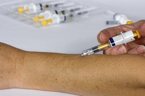 Syringe, Arm, Injection, Medical, Needle, Healthcare