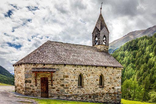 Church, Chapel, Old, Historically, Landscape