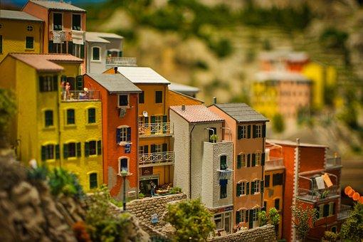 Miniature World, Wonderland, Houses, Mediterranean