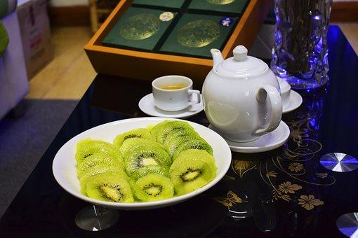 Green Tea, Drink Tea, Eat Cake, Mid-autumn Festival