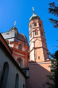 Neumünster Church In Würzburg, Pen Neumünster, Church