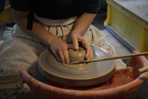 Ceramic, Workshop, Craft, Clay, Pottery, Handmade