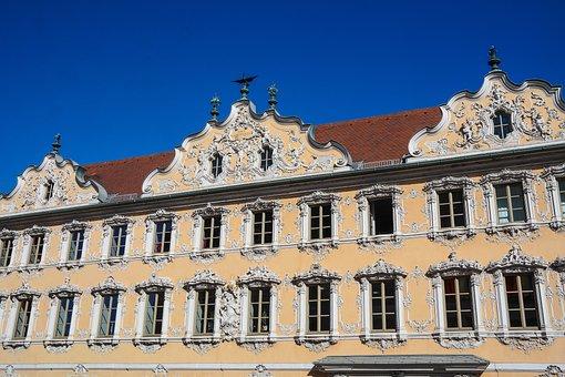 Falkenhaus In Würzburg, Rococo, Facade, Building