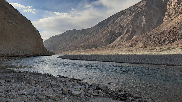 Mountains, Sky, Ladakh, Nature, Mountain, Outdoors