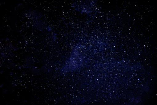 Sky, Stars, Nature, Blue, Stem, Natural, Night